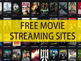 Free Movie Streaming Websites